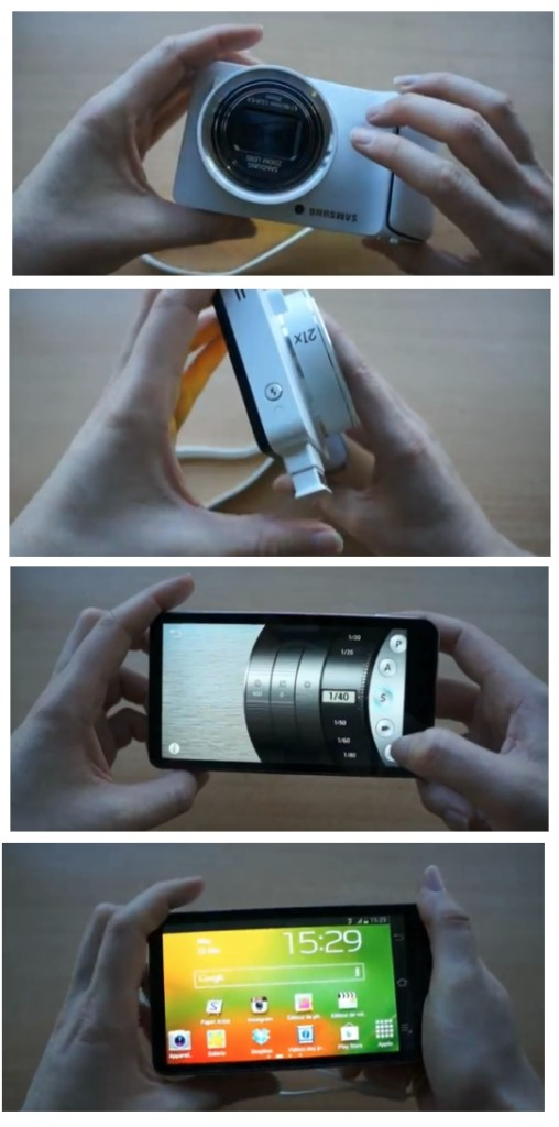 Samsung Galaxy Camera présentation