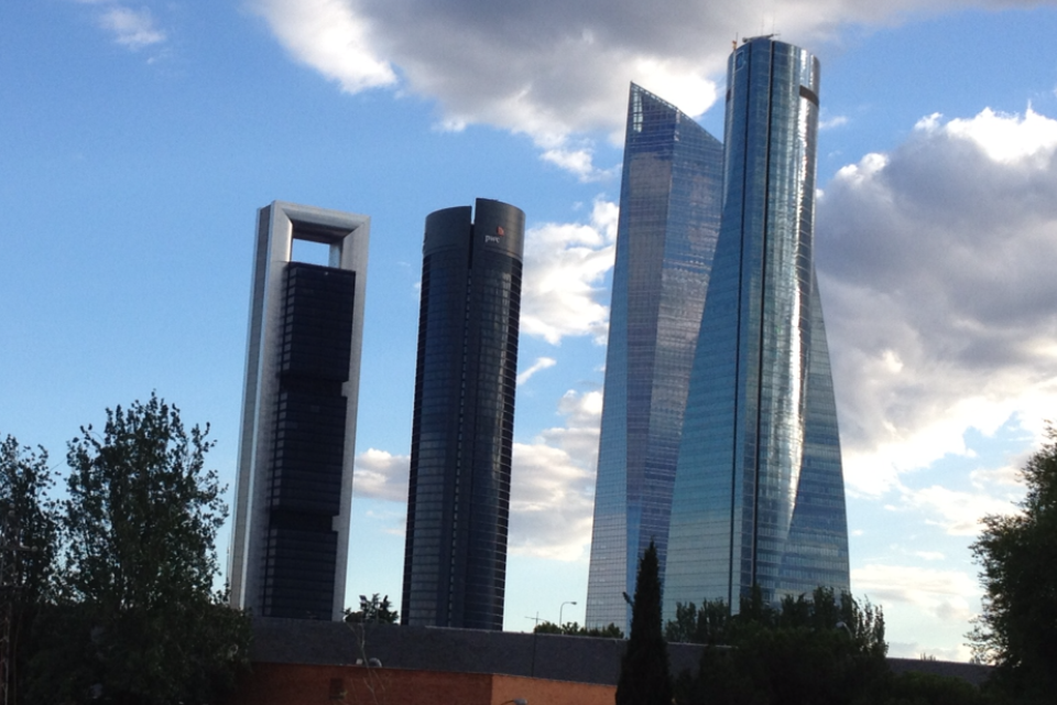 Cuatro Torres (Quatre tours) Business Area